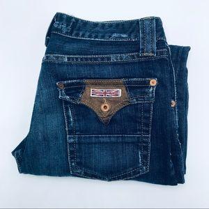 """Hudson Boot Cut Jeans, Size 34"""", EUC"""